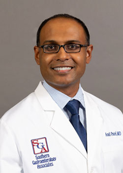 Meet Dr. Amil Patel, a physician practicing at Southern Gastroenterology Associates